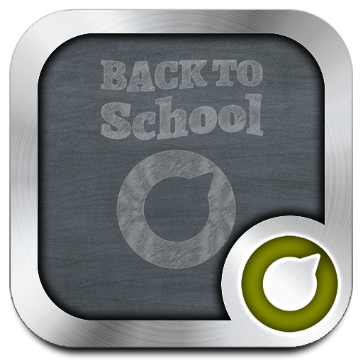 Blackboard Solo Launcher Theme Android APK Download Free By RIU Design