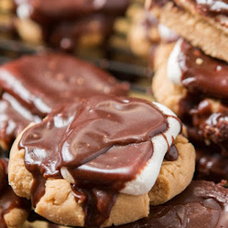 Peanut Butter Marshmallow Fudge Cookies