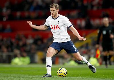 Jan Vertonghen pourrait ne même pas terminer la saison en cours avec Tottenham