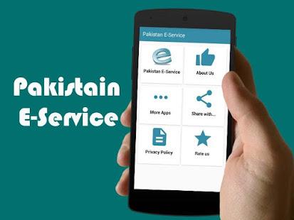 E-Service for Pakistan - Apps en Google Play