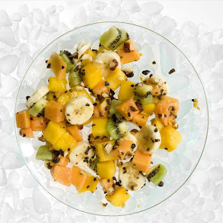 Tropical Fruit Salad with Cacao Nibs