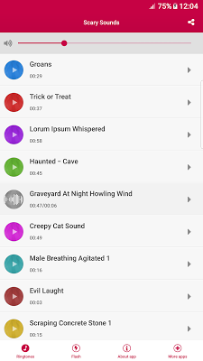 Scary Sounds - screenshot
