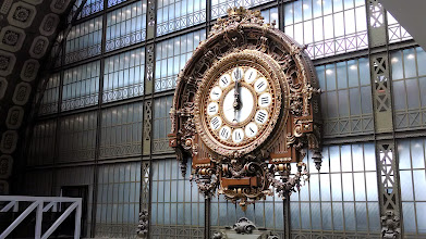 Photo: Orsay Museum clock 2