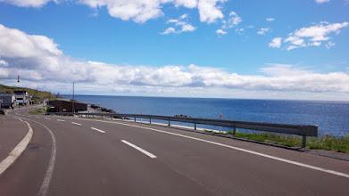 Photo: 海は青いな