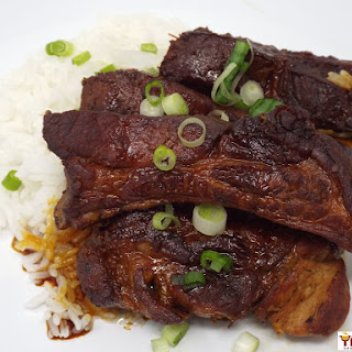 Japanese Style Braised Pork Ribs.