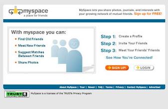 Photo: MySpace (ca. 2003)