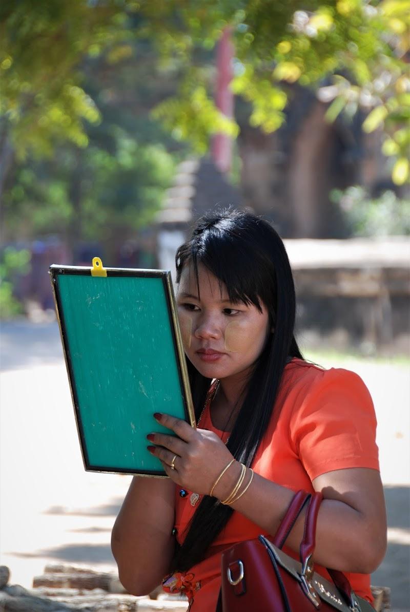 Donna al mercato, Myanmar di mumucross