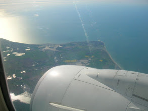Photo: Arriving to Great Britain, from my seat in the flight UX1013