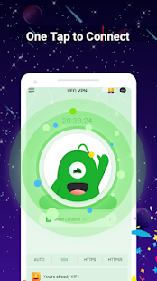 UFO VPN Basic: Free VPN Proxy Master & Secure WiFi Screenshot
