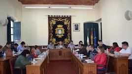 Imagen del Pleno celebrado este miércoles en Níjar.