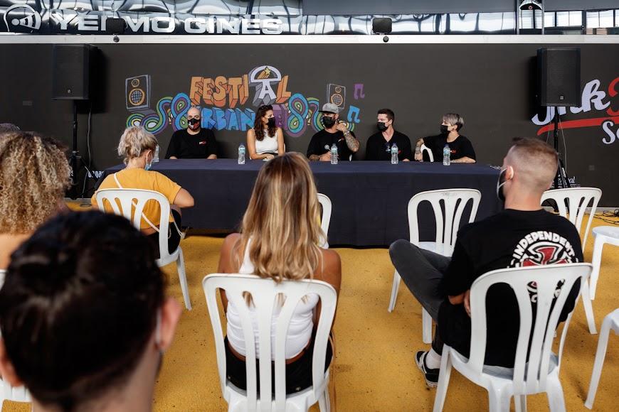 Rodrigo y su equipo de InkBro compartieron sus conocimientos con los asistentes.