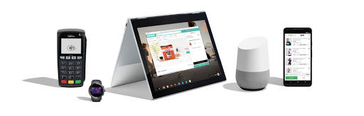 Google Pay available on various devices