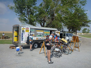 Photo: First rest stop