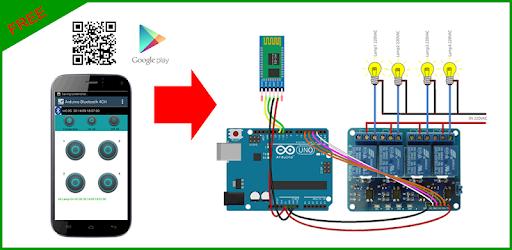 Bluetooth Control for Arduino - by merahkemarun - Tools