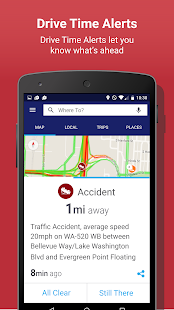 INRIX Traffic Maps & GPS- screenshot thumbnail