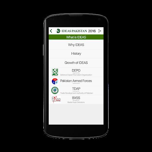 IDEAS Pakistan 2016 Screenshot