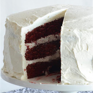 3-Layer Red Velvet Cake with Cream Cheese Buttercream