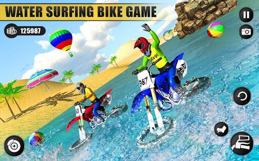 Beach Water Surfer Dirt Bike: Xtreme Racing Games apkdebit screenshots 6
