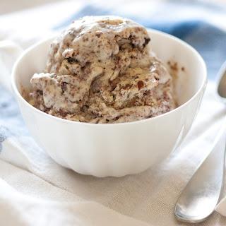 Malted Vanilla Ice Cream with Chocolate Crackle