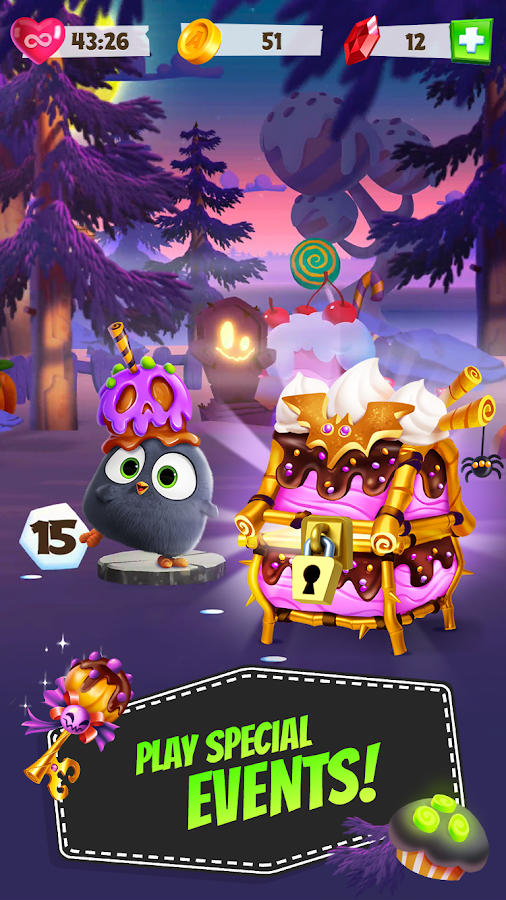 Angry Birds Match- screenshot