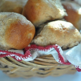 Whole Wheat Buttermilk Rolls.