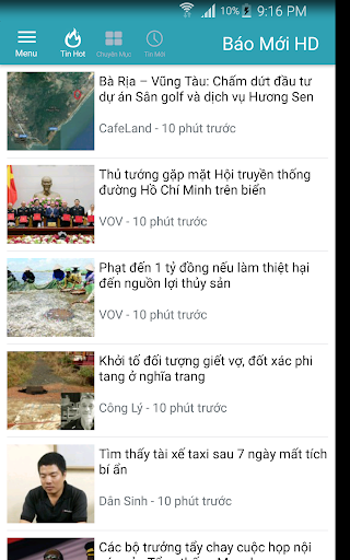 Báo Mới HD - doc bao moi tin tuc 24h screenshot 2