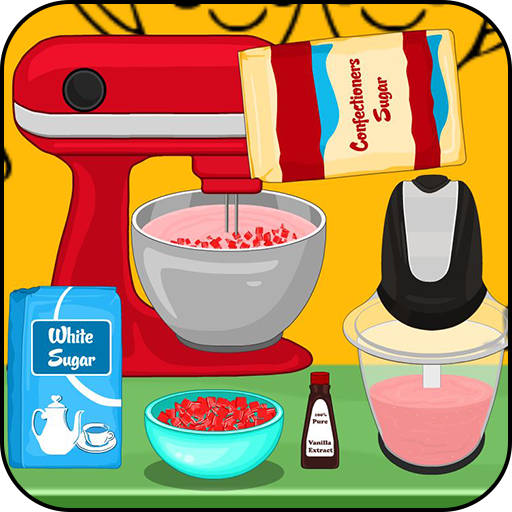 Cooking Strawberry cream pie (game)
