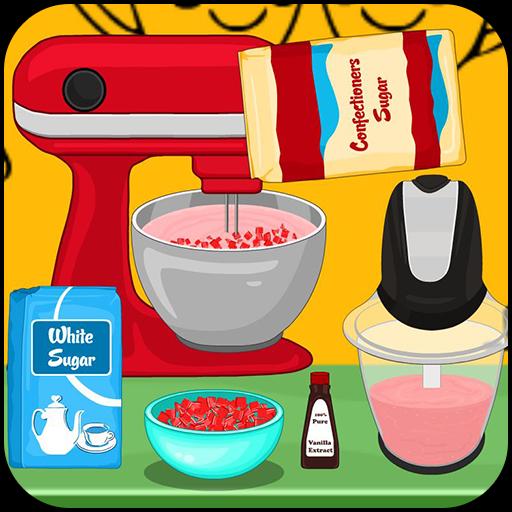 Cooking Strawberry cream pie Icon