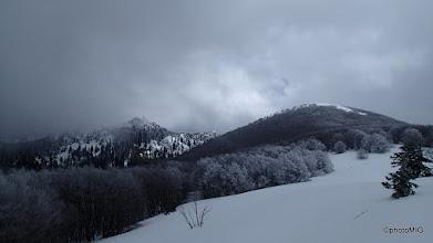 Photo: Na onaj kameniti vrh lijevo kanimo ići - Krajačev kuk