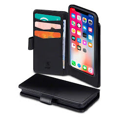SiGN 2 in 1 Magnetic Wallet Case iPhone X/XS BLACK