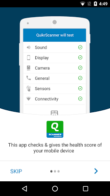 QuikrScanner for Mobiles - screenshot