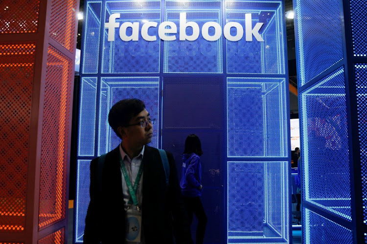 A Facebook exhibit at a China International Import Expo in Shanghai. Picture: REUTERS/ALY SONG