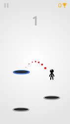 Tramp Land - Stickman Jump Arcade APK screenshot thumbnail 2