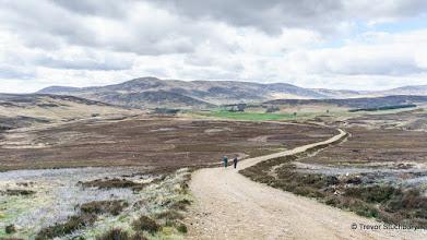 Photo: Approaching Allrey, Glen Esk