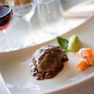 Italian-Style Beef Braised in Red Wine (Brasato al Barolo).