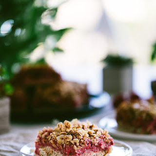 Almond and Raspberry Breakfast Bars