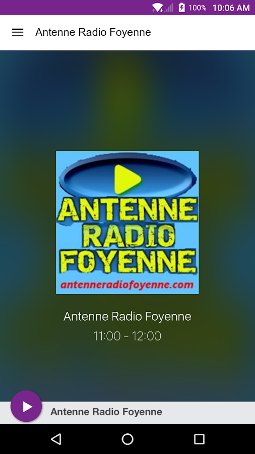 Antenne Radio Foyenne- screenshot