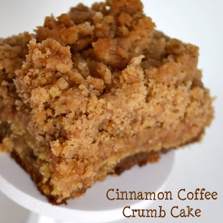 Cinnamon Coffee Crumb Cake (and a Giveaway!)