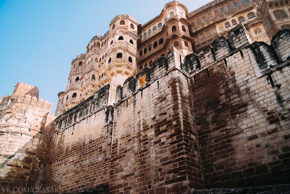 Крепость Мехрангарх (Meherangarh) , Джодхпур