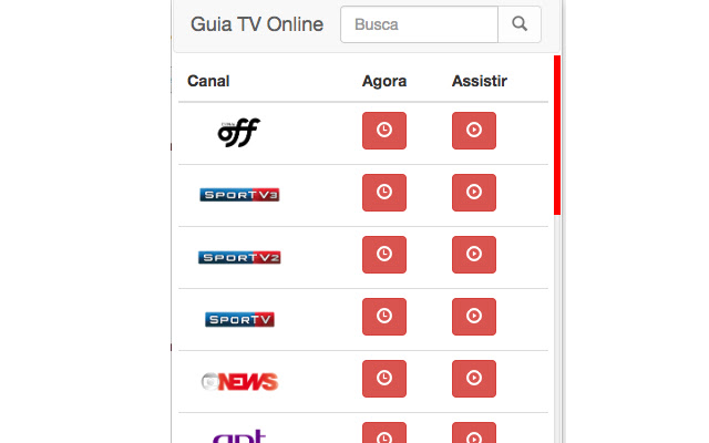 TV Online Guia