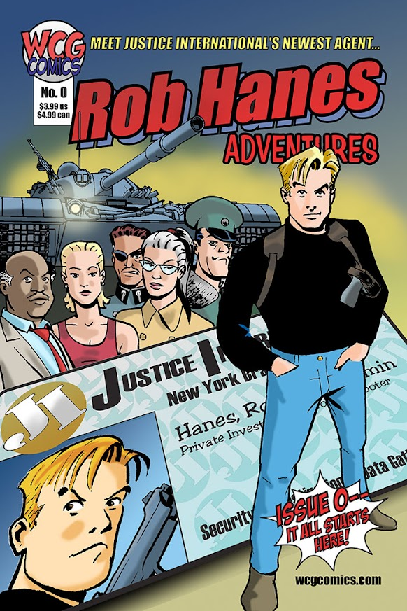 Cover to Rob Hanes Adventures #0
