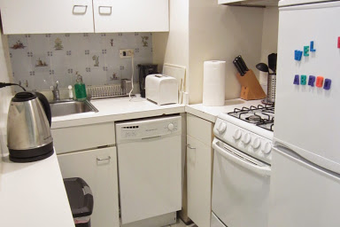 Fully equipped kitchen at 2 Bedroom Apartment at 3rd Avenue Midtown East