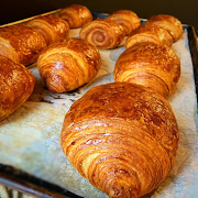 Freshly Baked All Butter Croissants