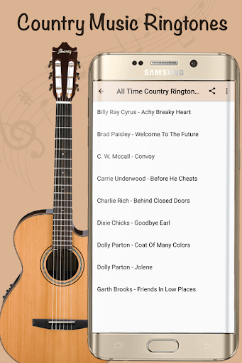 Best Country Ringtones - Top Country Songs 6.8.4 screenshots 1