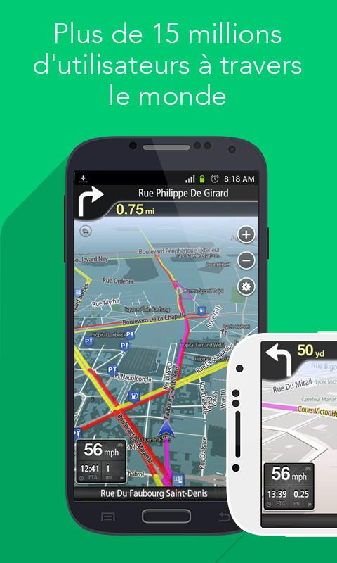 Navfree GPS Navfree – Capture d'écran