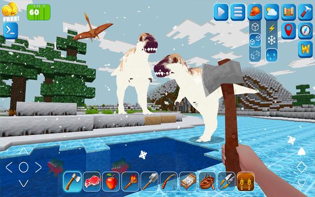 RaptorCraft 3D: Survival Craft Dangerous