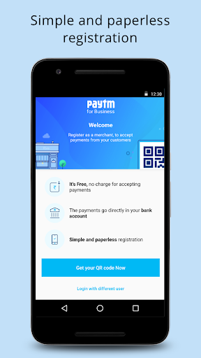 Paytm For Business: Accept & Manage Payments screenshot for Android