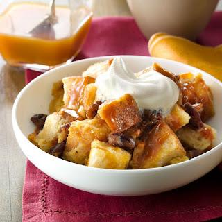 Butterscotch-Pecan Bread Pudding.