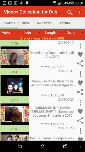 Videos Collection for Dubsmash