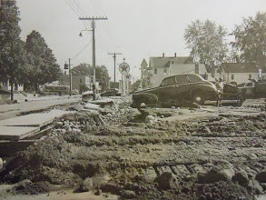Photo: The view down northern Main Street from the parking lot of what was then Fitzgeralds.